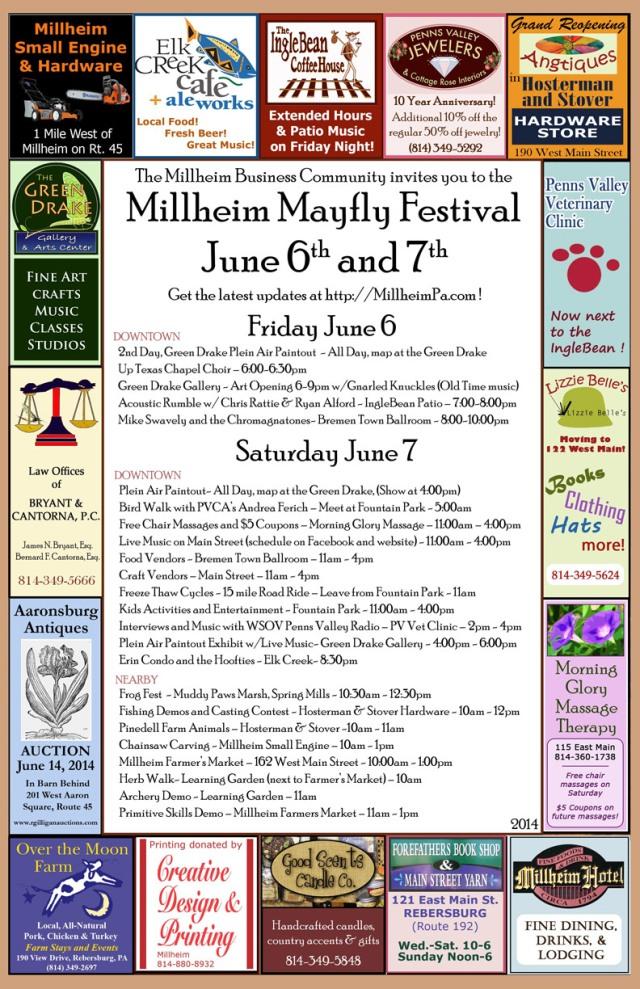 Millheim Mayfly Festival