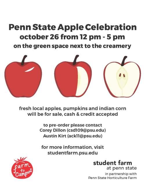Apple Celebration Oct 26